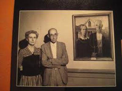 Gotico Estadounidense 1930 Que Significa Este Cuadro O