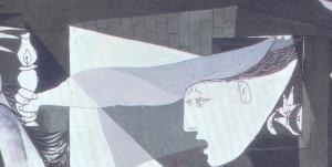 Resultado de imagen de mujer de la lampara guernica