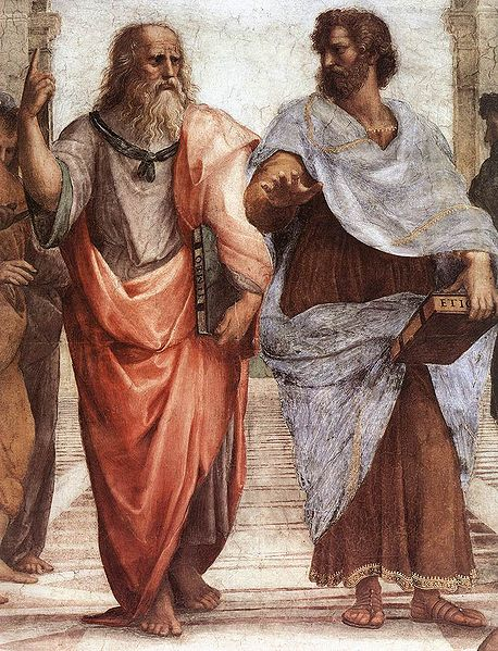 458px-Sanzio_01_Plato_Aristotle