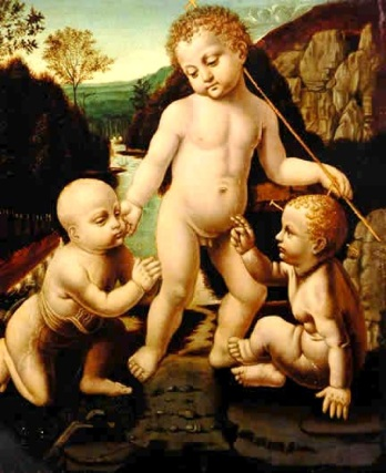 Los+tres+niños+santos